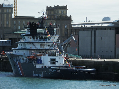ABEILLE LIBERTE Emergency Tow Vessel Cherbourg PDM 14-07-2014 16-01-01