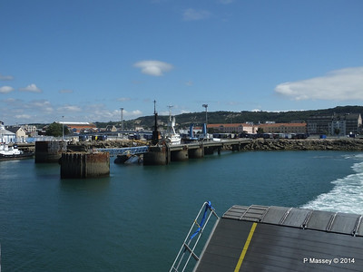 Departing Cherbourg aboard NORMANDIE EXPRESS PDM 14-07-2014 15-58-40