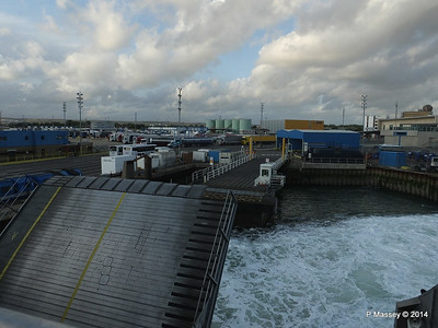 Berthing at Portsmouth International Port PDM 11-08-2014 19-20-002