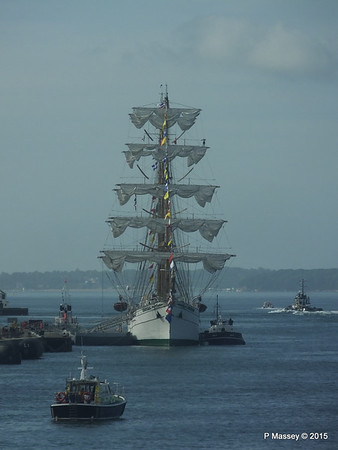 Mexican Navy Training Ship CUAUHTEMOC Portsmouth PDM 29-06-2015 08-01-02
