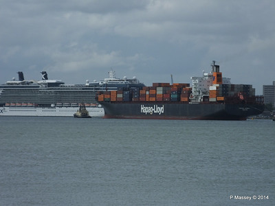 BOSTON EXPRESS Passing CELEBRITY ECLIPSE Southampton PDM 05-07-2014 16-25-48