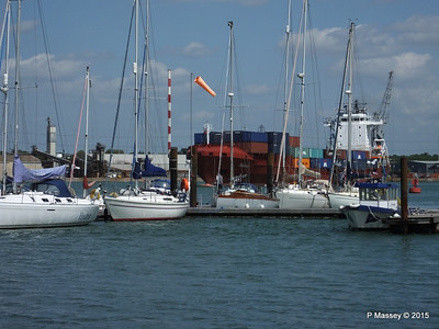 CANOPUS Arriving Southampton Over Marchwood Yacht Club PDM 21-05-2015 12-58-21