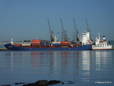 ICE RUNNER Arriving Southampton PDM 29-12-2013 12-17-41