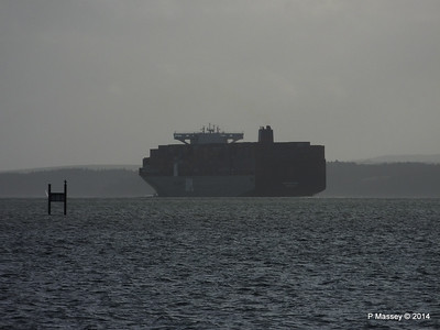 APL MERLION Outbound Southampton the Solent PDM 10-12-2014 12-49-57