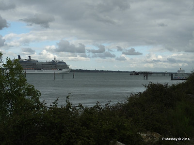 CELEBRITY ECLIPSE Departing Southampton PDM 24-05-2014 17-14-46