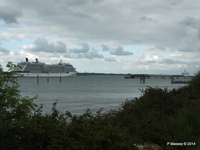 CELEBRITY ECLIPSE Departing Southampton PDM 24-05-2014 17-15-13
