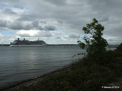 CELEBRITY ECLIPSE Departing Southampton PDM 24-05-2014 17-13-36