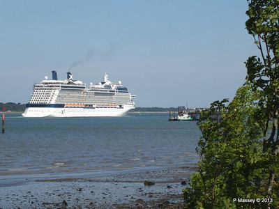 CELEBRITY ECLIPSE Departing Southampton PDM 08-06-2013 16-57-11