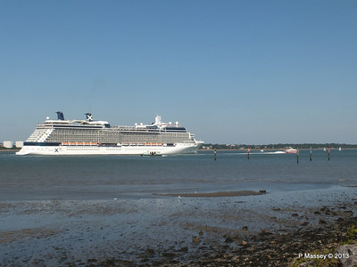 CELEBRITY ECLIPSE Departing Southampton PDM 08-06-2013 16-54-54