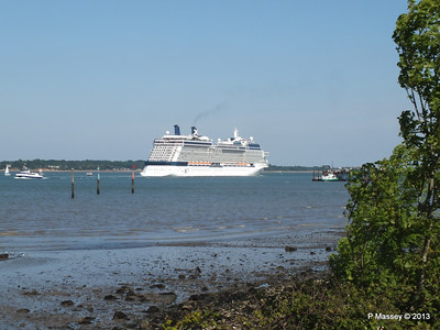 CELEBRITY ECLIPSE Departing Southampton PDM 08-06-2013 16-57-06