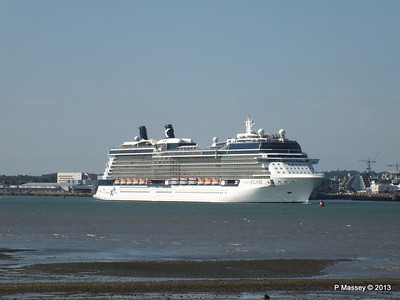 CELEBRITY ECLIPSE Departing Southampton PDM 08-06-2013 16-48-45