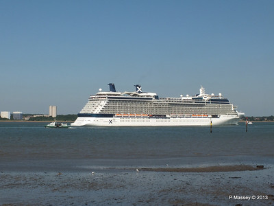 CELEBRITY ECLIPSE Departing Southampton PDM 08-06-2013 16-55-13