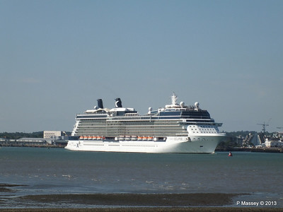 CELEBRITY ECLIPSE Departing Southampton PDM 08-06-2013 16-48-42