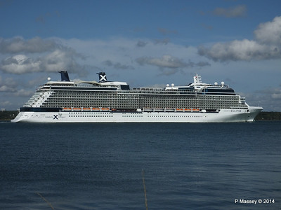 CELEBRITY ECLIPSE Departing Southampton PDM 02-08-2014 16-53-57