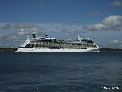 CELEBRITY ECLIPSE Departing Southampton PDM 02-08-2014 16-53-55