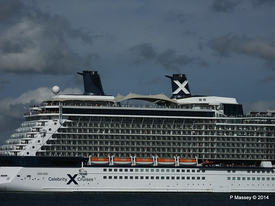 CELEBRITY ECLIPSE Departing Southampton PDM 02-08-2014 16-54-02