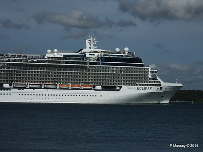CELEBRITY ECLIPSE Departing Southampton PDM 02-08-2014 16-53-52