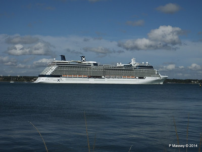 CELEBRITY ECLIPSE Departing Southampton PDM 02-08-2014 16-54-05