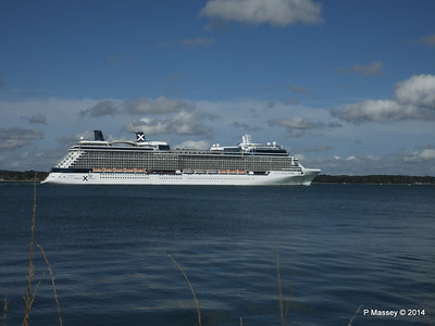 CELEBRITY ECLIPSE Departing Southampton PDM 02-08-2014 16-53-36