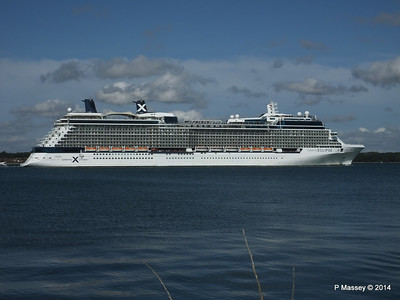 CELEBRITY ECLIPSE Departing Southampton PDM 02-08-2014 16-53-41