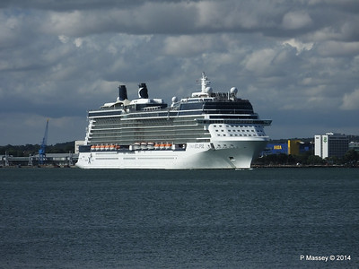 CELEBRITY ECLIPSE Departing Southampton PDM 02-08-2014 16-46-52