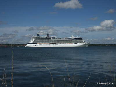 CELEBRITY ECLIPSE Departing Southampton PDM 02-08-2014 16-53-44