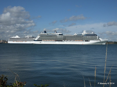 CELEBRITY ECLIPSE Departing Southampton PDM 02-08-2014 16-52-38