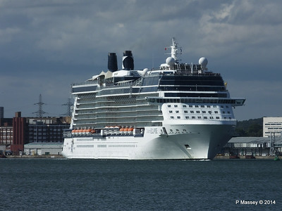 CELEBRITY ECLIPSE Departing Southampton PDM 02-08-2014 16-45-07