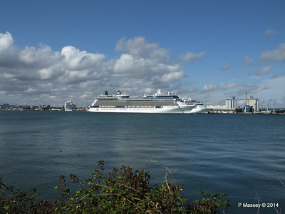 CELEBRITY ECLIPSE Departing Southampton PDM 02-08-2014 16-51-25