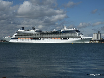 CELEBRITY ECLIPSE Departing Southampton PDM 02-08-2014 16-51-41