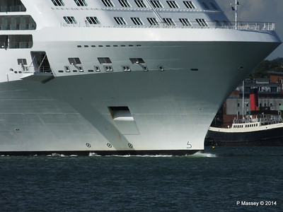 CELEBRITY ECLIPSE Departing Southampton PDM 02-08-2014 16-49-12