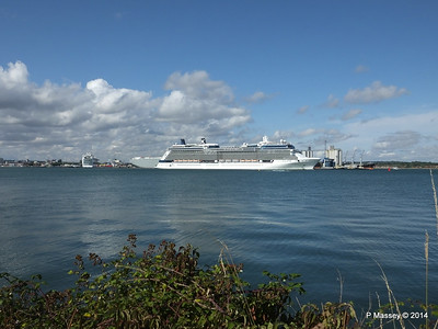 CELEBRITY ECLIPSE Departing Southampton PDM 02-08-2014 16-51-50