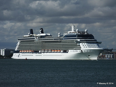 CELEBRITY ECLIPSE Departing Southampton PDM 02-08-2014 16-48-40