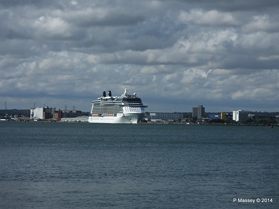 CELEBRITY ECLIPSE Departing Southampton PDM 02-08-2014 16-45-43
