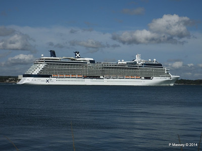 CELEBRITY ECLIPSE Departing Southampton PDM 02-08-2014 16-54-08