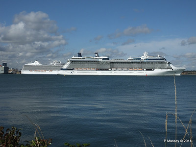 CELEBRITY ECLIPSE Departing Southampton PDM 02-08-2014 16-52-35
