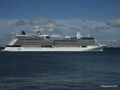 CELEBRITY ECLIPSE Departing Southampton PDM 02-08-2014 16-53-39