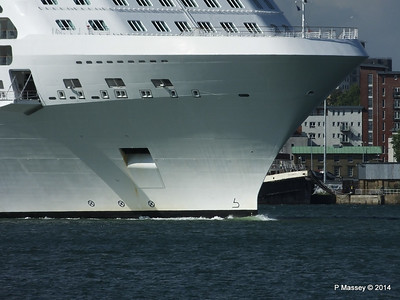 CELEBRITY ECLIPSE Departing Southampton PDM 02-08-2014 16-49-15