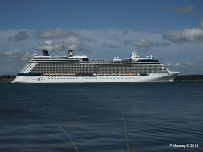 CELEBRITY ECLIPSE Departing Southampton PDM 02-08-2014 16-53-46