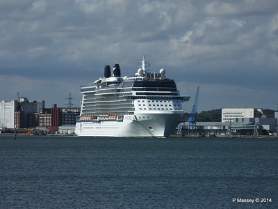 CELEBRITY ECLIPSE Departing Southampton PDM 02-08-2014 16-44-54