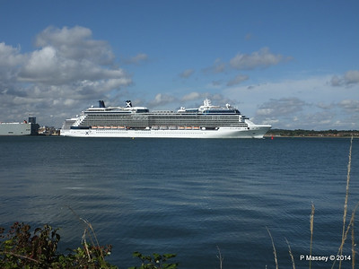 CELEBRITY ECLIPSE Departing Southampton PDM 02-08-2014 16-52-14