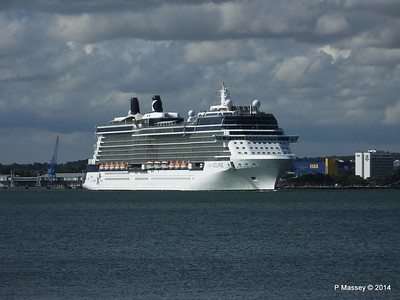 CELEBRITY ECLIPSE Departing Southampton PDM 02-08-2014 16-46-49