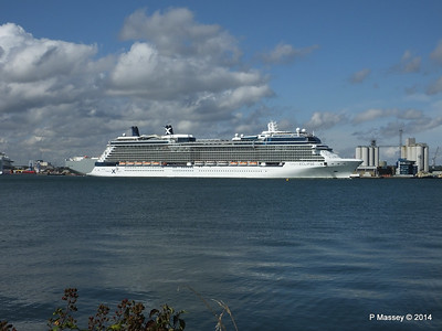 CELEBRITY ECLIPSE Departing Southampton PDM 02-08-2014 16-51-43