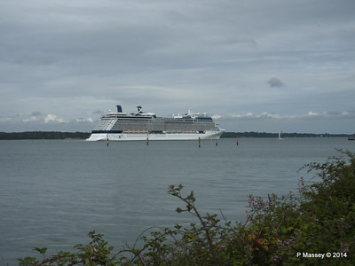 CELEBRITY ECLIPSE Departing Southampton PDM 05-07-2014 17-01-28