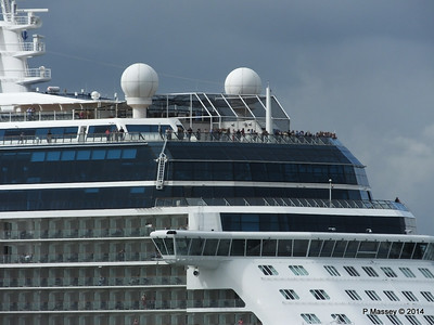 CELEBRITY ECLIPSE Departing Southampton PDM 05-07-2014 16-56-06