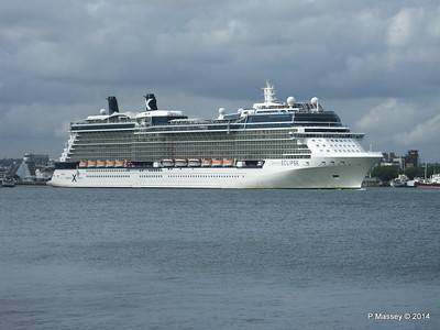CELEBRITY ECLIPSE Departing Southampton PDM 05-07-2014 16-55-45