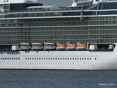 CELEBRITY ECLIPSE Departing Southampton PDM 05-07-2014 16-55-48