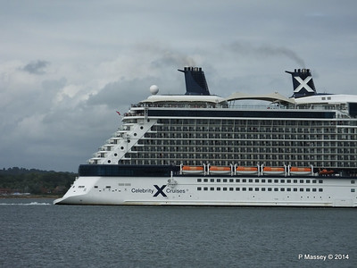 CELEBRITY ECLIPSE Departing Southampton PDM 05-07-2014 16-59-43