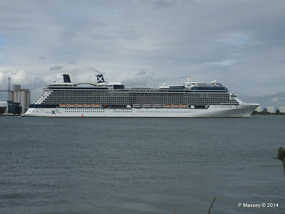 CELEBRITY ECLIPSE Departing Southampton PDM 05-07-2014 16-59-22