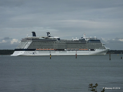 CELEBRITY ECLIPSE Departing Southampton PDM 05-07-2014 17-01-15